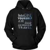 Immerse Yourself In The Beauty Of Travel Hoodie - OWTwear