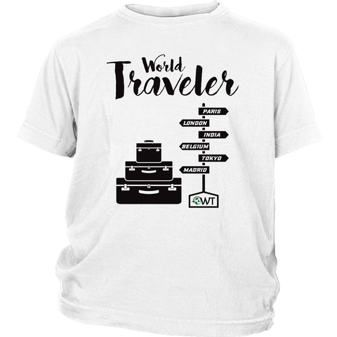 World Traveler Youth Shirt - OWTwear