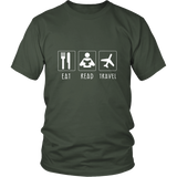 Eat, Read, Travel Unisex Shirt - OWTwear
