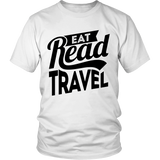 Eat Read Travel Unisex Shirt - OWTwear