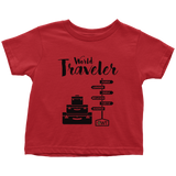 World Traveler Toddler Shirt - OWTwear