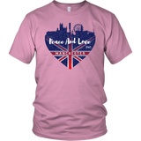 Peace And Love Manchester Unisex Shirt - OWTwear