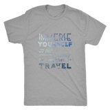 Immerse Yourself In The Beauty Of Travel Mens Shirt - OWTwear