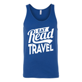 Eat Read Travel Unisex Tank - OWTwear