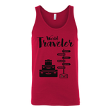 World Traveler Unisex Tank Top - OWTwear