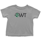 Toddler T-Shirt OWT Logo- Black - OWTwear