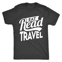 Eat Read Travel Mens Shirt - OWTwear