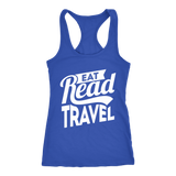 Eat Read Travel Ladies Tank - OWTwear