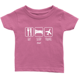Eat Sleep Travel Infant Shirt - OWTwear