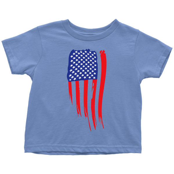 American Flag Toddler T-Shirt - OWTwear