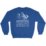 Adventure Awaits Sweatshirt (Back Logo) - OWTwear
