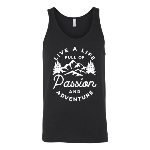 Live a life full of passion and adventure Tank Top - OWTwear