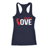 SoCal Love Women's Tank Top (White logo) - OWTwear