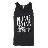 Planes Trains and Automobiles Tank Top - OWTwear