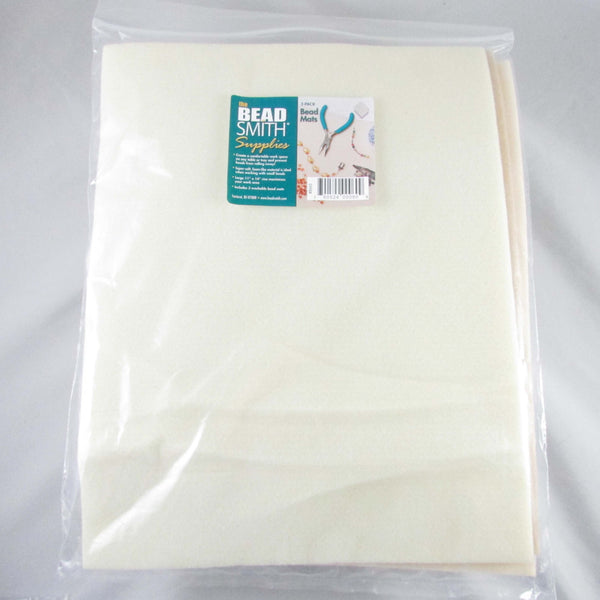 11 x 14 inch extra large bead mats by The Bead Smith, 3 pack