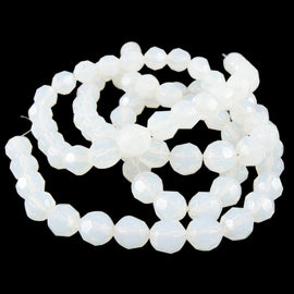 8mm faceted round,