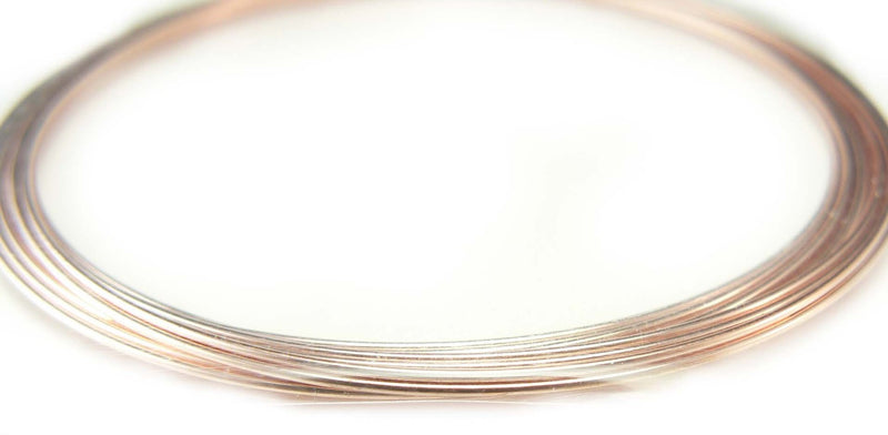 "2.25"" copper plated stainless steel, bracelet memory wire, 12 loops"