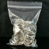3 x 4 inch, 2 mil thick, zip top reclosable storage bags, 100 pcs.