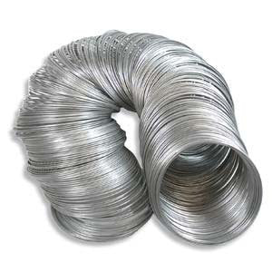 "1.75"" diameter stainless steel bracelet memory wire, 1 oz. ~70 loops"