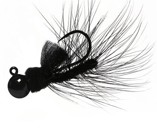 Aerojig Hackle jig, Size: 1/16oz Salmon & Steelhead Jigs Hawken Fishing #01