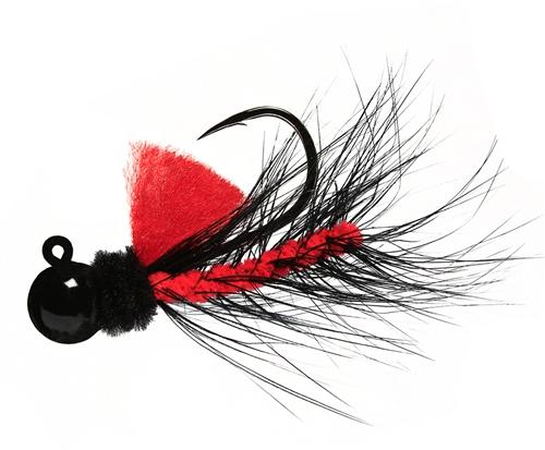 Aerojig Hackle jig, Size: 1/16oz Salmon & Steelhead Jigs Hawken Fishing #07