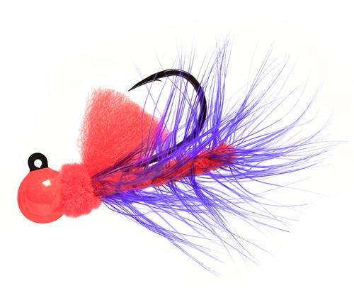 Aerojig Hackle jig, Size: 1/16oz Salmon & Steelhead Jigs Hawken Fishing #09