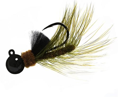 Aerojig Hackle jig, Size: 1/16oz Salmon & Steelhead Jigs Hawken Fishing #37