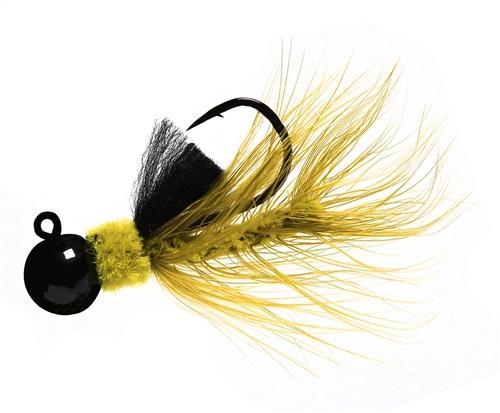 Aerojig Hackle jig, Size: 1/16oz Salmon & Steelhead Jigs Hawken Fishing #39
