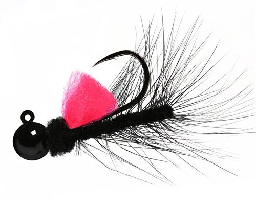 Aerojig Hackle jig, Size: 1/16oz Salmon & Steelhead Jigs Hawken Fishing #61