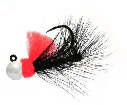 Aerojig Hackle jig, Size: 1/16oz Salmon & Steelhead Jigs Hawken Fishing #63