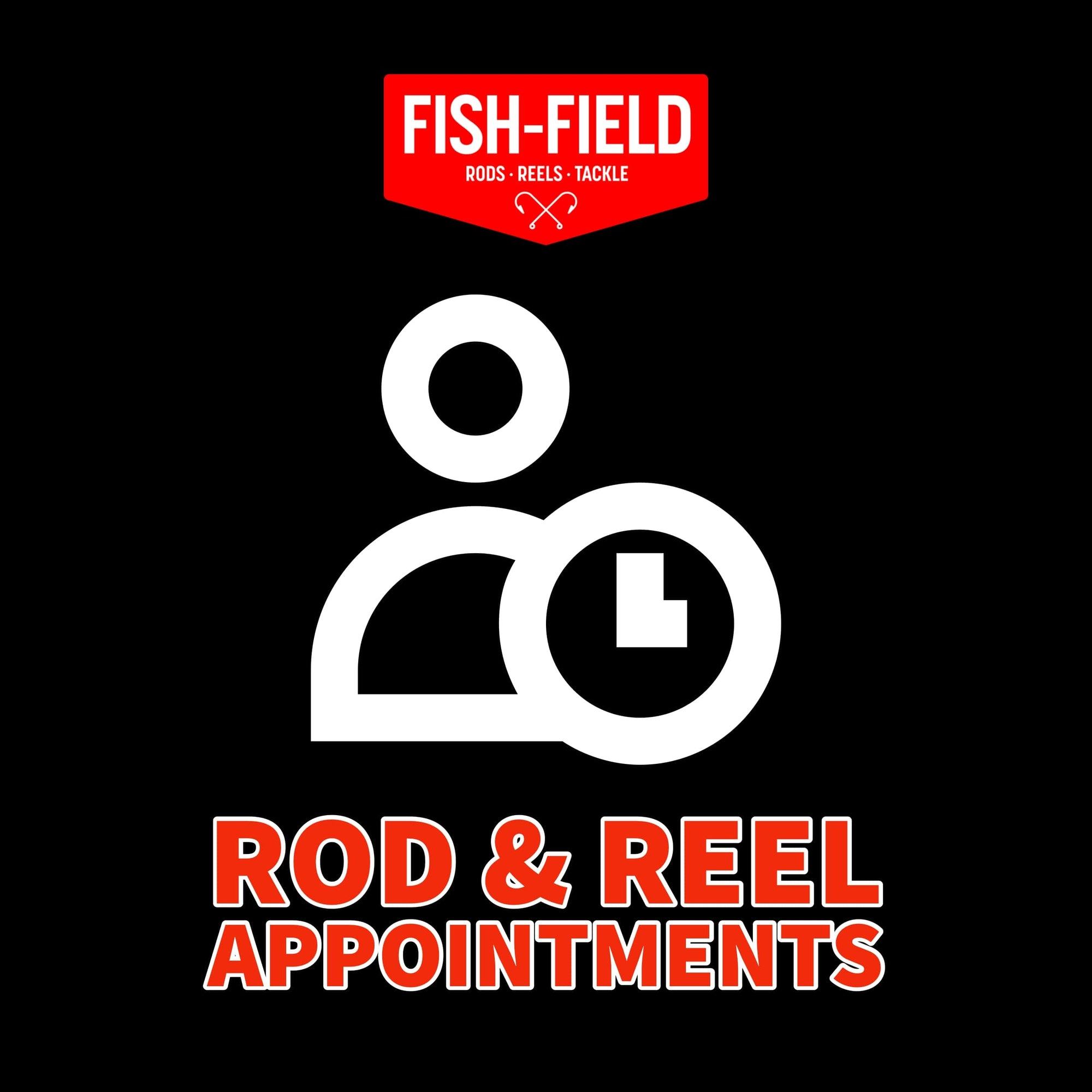 Appointment @ Fish-Field for Rods & Reels Service Fish-Field