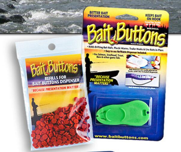Bait Buttons, Original & Big Game Sizes Other Bait Buttons Original Bait Buttons