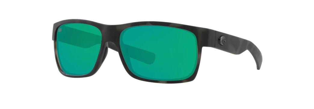 Costa Sunglasses Sunglasses Costa Half Moon Ocearch Tiger Shark Green Mirror 580G