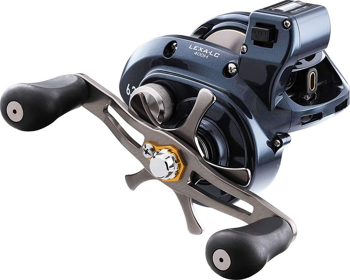 Daiwa Lexa #300 Line Counter Reels Low Profile Daiwa