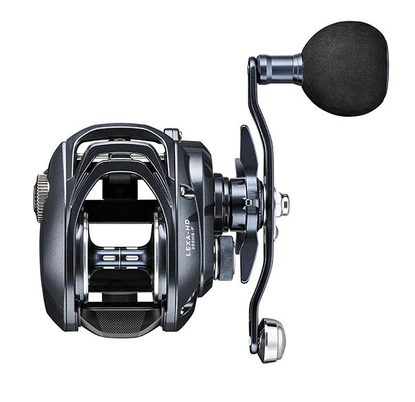 Daiwa Lexa HD Low Profile Reels - New Low Profile Daiwa