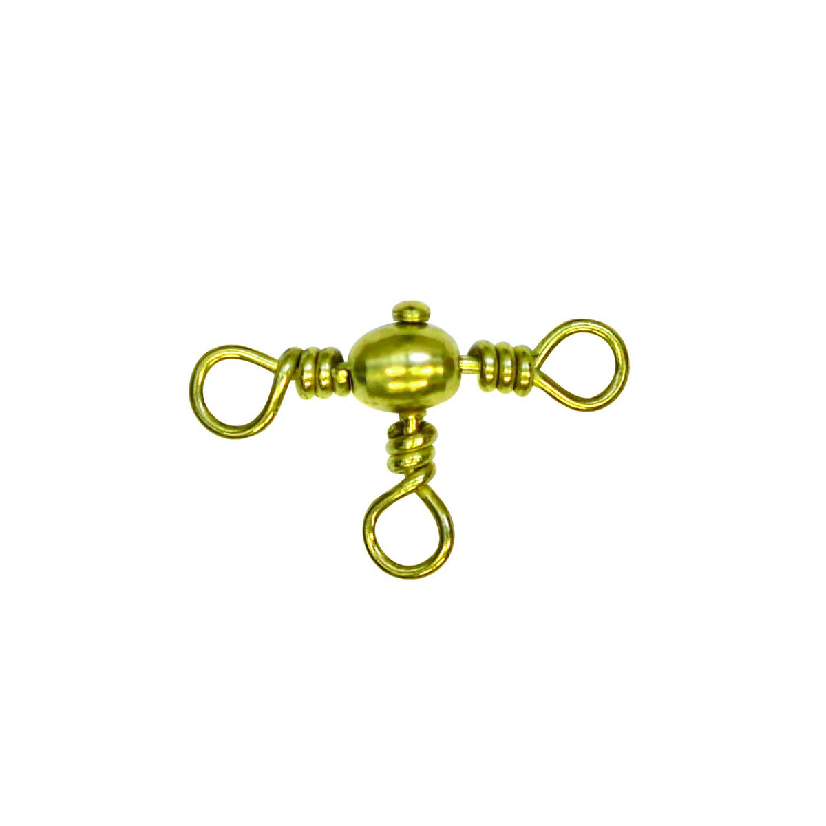 Eagle Claw Crossline Swivel Swivels & Hardware Eagle Claw #12 - QTY: 8
