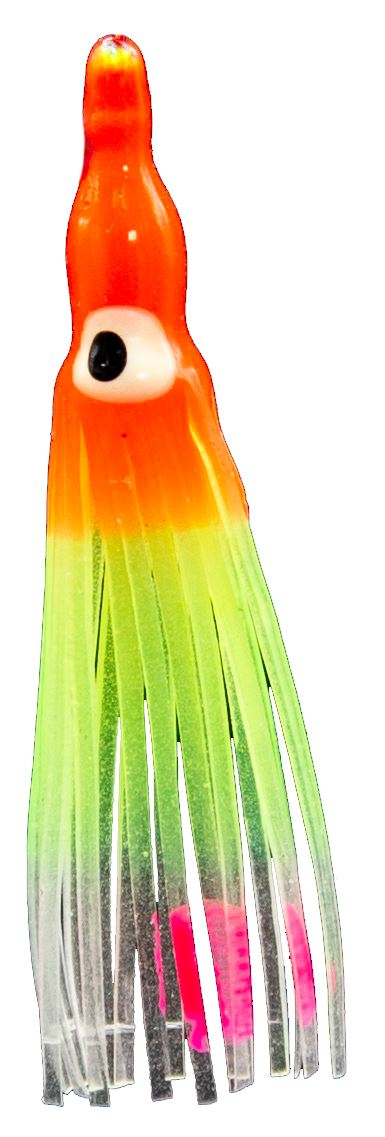 Fish-Field Baby Squid Hoochies soft plastic lures Fish-Field #009