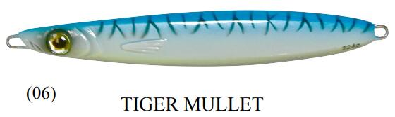 Fish-Field Bluewater Jigs Metal Lures Fish-Field 140g 06-Tiger Mullet