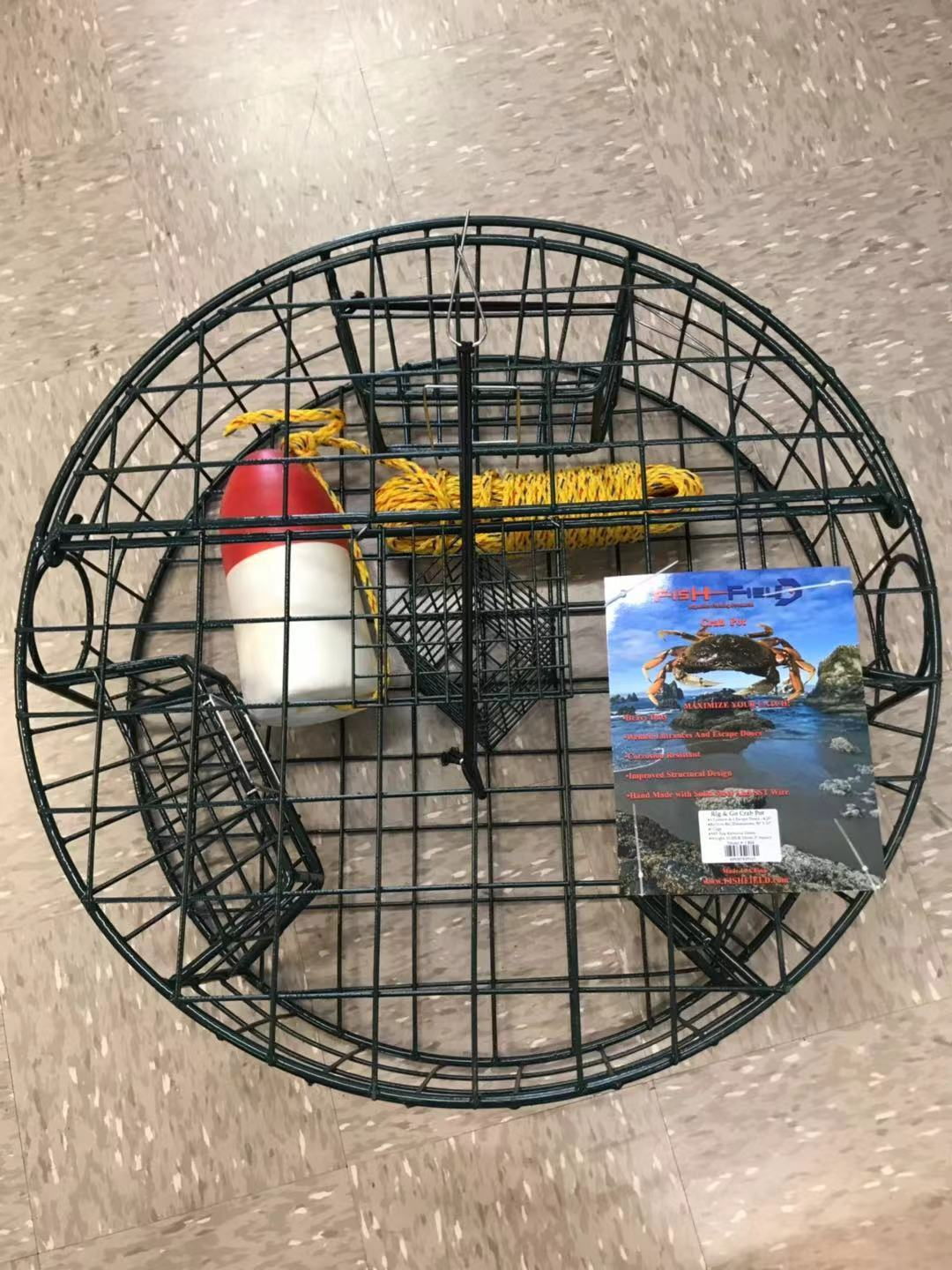 FISH-FIELD Rig and Go Crab Pot Combo Crabbing Fish-Field