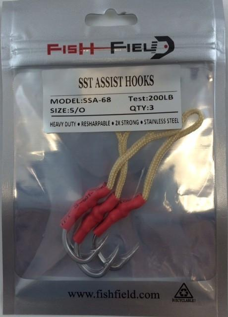 Fish-Field SST ASSIST HOOKS conv hooks Fish-Field 5/0