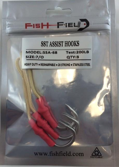 Fish-Field SST ASSIST HOOKS conv hooks Fish-Field 7/0