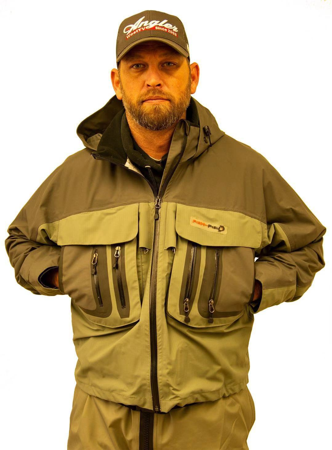 Fish-Field Wading Jacket Wading Gear Fish-Field