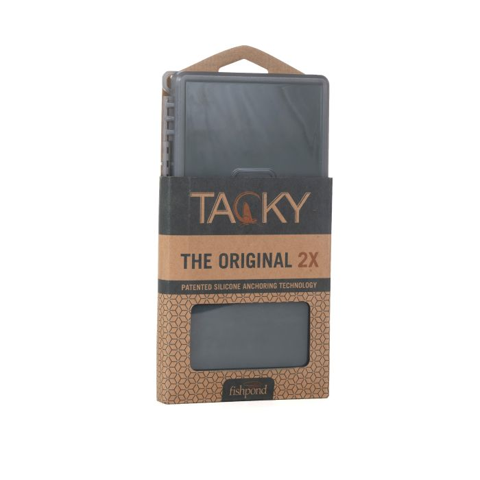 Fishpond TACKY ORIGINAL FLY BOX- 2X Fly Boxes Fishpond