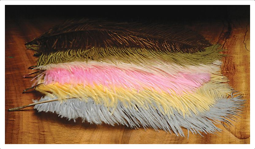 "Hareline 10-12"" Ostrich Herl Fly Fishing Materials Hareline"