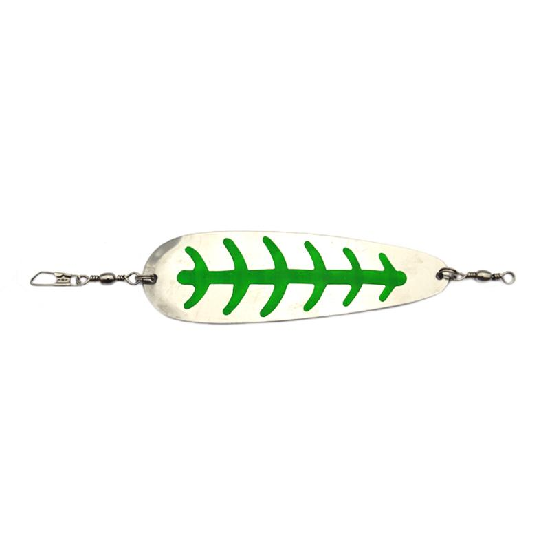 Mack's Lure SLING BLADE™ 4 inch Trolling Attraction Mack's Lure Nickel/Green