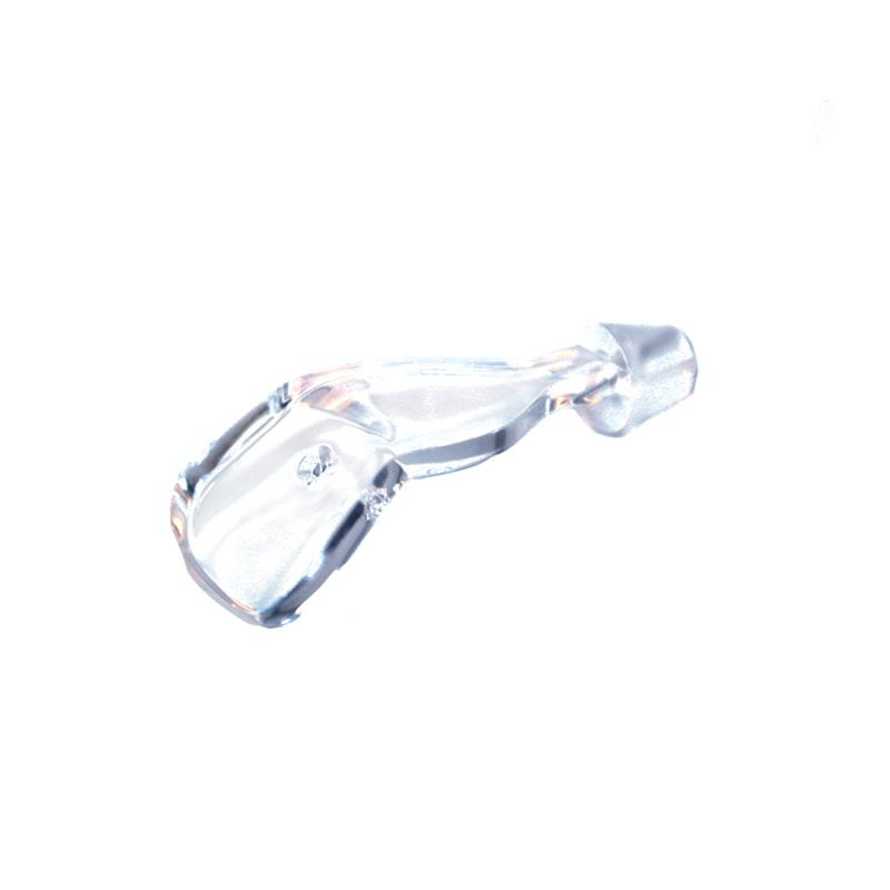 Mack's Lure Wiggle Hoochie Bills Lure Building Mack's Lure 1.5 inch Clear