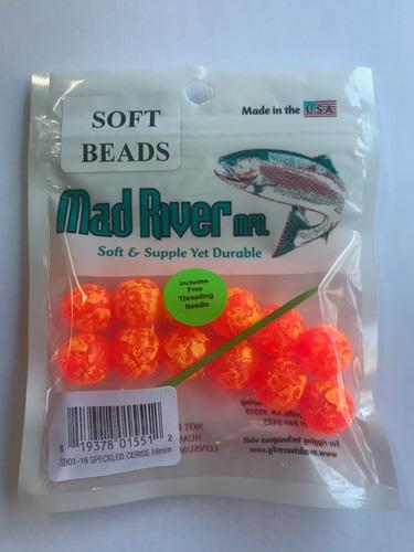 Mad River Soft Beads - Unsented Beads Mad River 12mm Speckled Cerise