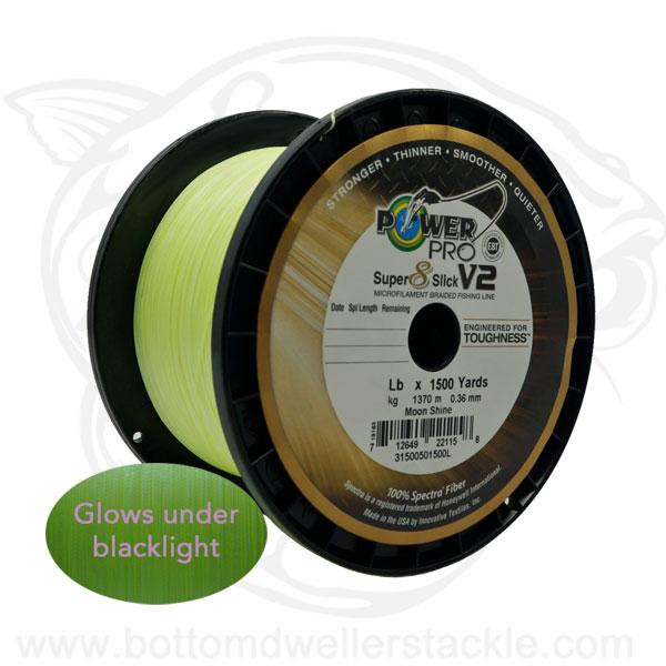 Power Pro Super 8 Slick V2 Braided Line MOONSHINE Braid Line Power Pro