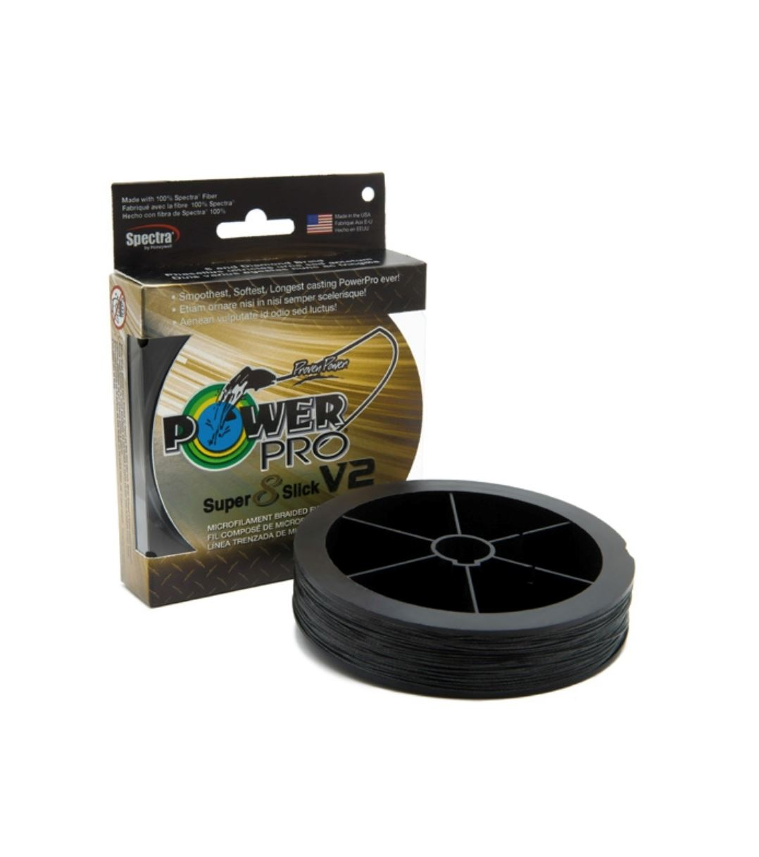 Power Pro Super 8 Slick V2 Braided Line ONIX Braid Line Power Pro