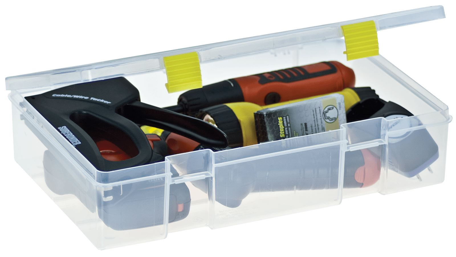 PROLATCH® OPEN-COMPARTMENT STOWAWAY® Box #3700 Tackle Box Plano #2373101